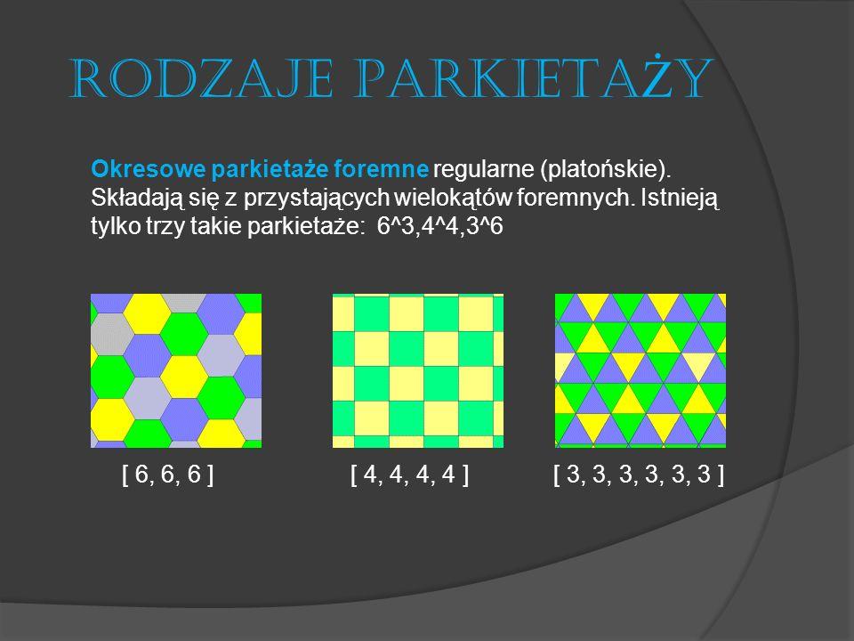 RODZAJE PARKIETAŻY [ 6, 6, 6 ] [ 4, 4, 4, 4 ] [ 3, 3, 3, 3, 3, 3 ]